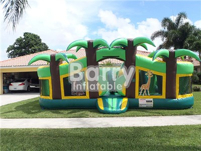 Kids Indoor Inflatable Playground , Fun Playground For Toddler Guangzhou BY-IP-006